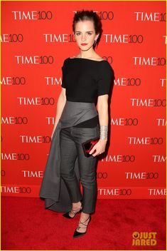 emma watson karlie kloss time 100 gala 05 Emma Watson keeps it classy in black while attending the 2015 Time 100 Gala held at Frederick P. Rose Hall, Jazz at Lincoln Center on Tuesday (April 21) in New York…