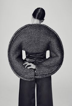 "reginasworld: "" Knitwear by Matilda Norbergo for her final collection at Royal College of Art called ""Earth's Crust / Material Rules"" """