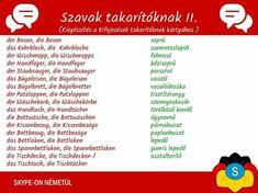 German Language, Learning, Words, Hungary, Learn German, Studying, Teaching, German, Deutsch