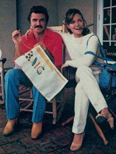 Rare and beautiful celebrity photos | Burt Reynolds and Sally Field