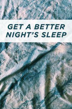 Get a better night's sleep | eBay