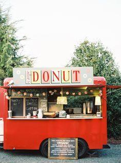 bring on the donut truck!   via: style me pretty http://www.romeoauto.it