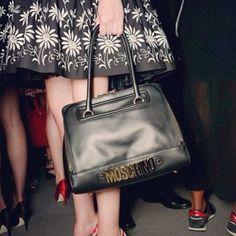 Moschino 30th Anniversary handbags at Milan Fashion Week SS14
