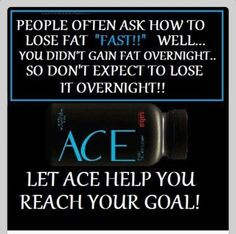 Weight loss takes time, so don't give up :) Let ACE help you! www.sabaforlife.com/Bryleigh