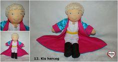 Gledita The Little Prince doll Anime Dolls, The Little Prince, Waldorf Dolls, Hungary, Elf On The Shelf, Etsy Shop, Cartoon, Holiday Decor, Handmade