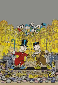 """Son of the Sun"" Disney Frozen, Disney Pixar, Walt Disney, Vintage Cartoon, Cartoon Art, Don Rosa, Disney Best Friends, Tweety, Uncle Scrooge"