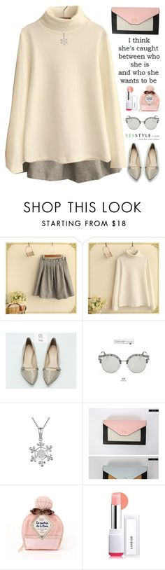 """YesStyle - Spring Fashion"" by scarlett-morwenna ❤ liked on Polyvore featuring Fairyland, AORON, Morococo, Laneige, women's clothing, women, female, woman, misses and juniors"