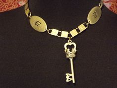 vintage necklace with pendant by Stillgoth on Etsy, $16.95