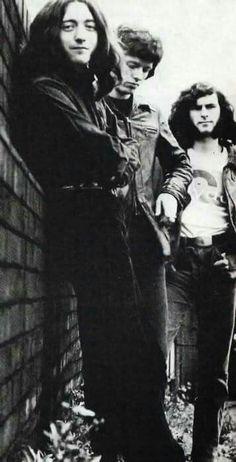 Taste (Left to right Rory Gallagher, John Wilson and Richard McCracken)