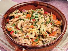 La trippa con carciofi: un piatto romanesco davvero squisito.  Provatela, non vi deluderà.