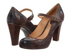 Frye Miranda MJ Dark Brown Burnished Antiqued Leather - 6pm.com
