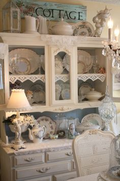 french country shabby chic dining room ideas | Shabby Chic Dining Room, After I took all my Christmas decorations ...