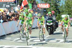 """2013 20/7 rit 20  Annecy-Semnoz > Peter Wheelie Sagan 109de en vrienden Moreno Moser, Brian Vandborg en Fabio Sabatini op 20'04"""""""