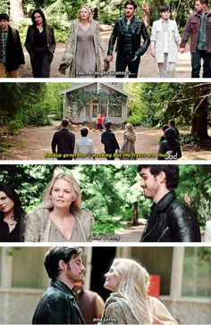 "Emma and Hook - 5 * 1 ""Dark Swan"" #CaptainSwan"