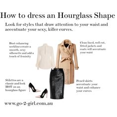 How to dress an Hourglass Shape