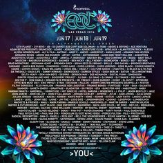 EDC Las Vegas- Full Line up out | buyTickets.com for Tickets | https://www.buytickets.com/Electric-Daisy-Carnival