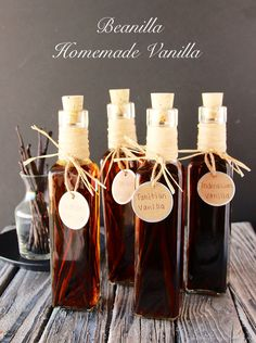 Beanilla Homemade Vanilla will show you exactly how easy it is to make your own vanilla at home! on www.cookingwithruthie.com