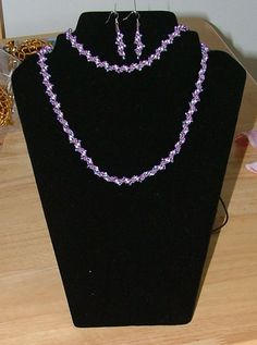 This is my spiral set in lilac.