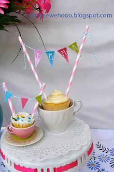 cupcake / cake bunting