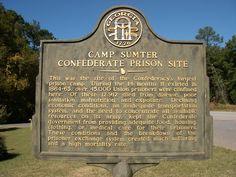 Camp Sumter Confederate Prison Site GHM 129-3
