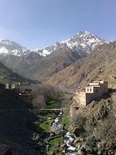 Jebel Toubkal Atlas Mountains Morocco