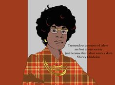 Son of Ellis Black History, Art History, Shirley Chisholm, Celebrity Portraits, Folding Chair, Caricatures, Art Projects, Stencils, Sons