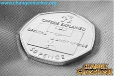 A guide to collecting the UK's rarest circulating coins...The 'Offside Rule' Football design is the rarest in the Olympic 50p series
