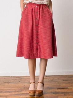 Mckenzie Bridge Cotton Skirt