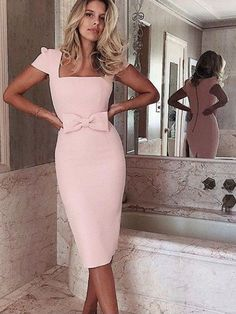 Satin dresses 2019 Source by dressgirl dresses classy Source by FayeRunolfsdottir hochzeitsgast Elegant Outfit, Classy Dress, Classy Outfits, Sophisticated Dress, Mode Outfits, Dress Outfits, Fashion Dresses, Elegant Dresses For Women, Dresses Short