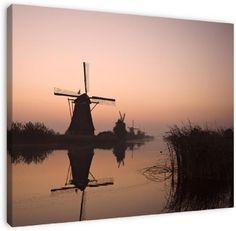 mills at kinderdijk the netherlands  http://www.werkaandemuur.nl/index/86/nl/molens-kinderdijk/view/17168/11