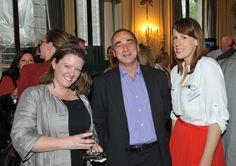 Sarah Clelland & Carlo Rimini (MICROS-Fidelio (UK) Ltd), Laura Chesters (The Evening Standard)