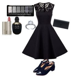 """""""Untitled #204"""" by rowanstella on Polyvore featuring Yves Saint Laurent, Ilia and Alexander McQueen"""