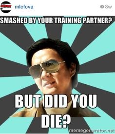 Martial arts humor