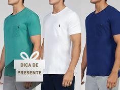As camisetas com bolso frontal da Calvin Klein são leves, práticas e a cara do verão ☀  #MyCalvins #ModaMasculina #CalvinKlein