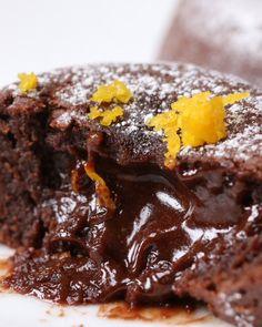 Chocolate Orange Lava Cakes