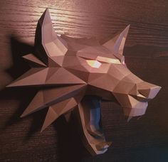 The Witcher - Witcher Medallion Ver.2 Free Papercraft Download - http://www.papercraftsquare.com/the-witcher-witcher-medallion-ver-2-free-papercraft-download.html#Decoration, #TheWitcher, #WallHanging, #WitcherMedallion