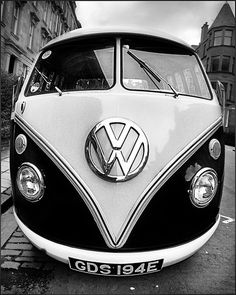 Don't ask me why, because I don't know, but I've wanted an old VW bus since I was a kid.