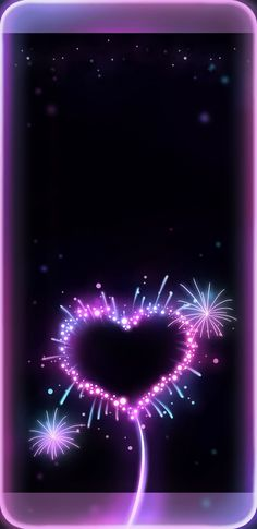 By Artist Unknown. Heart Iphone Wallpaper, Purple Wallpaper, Locked Wallpaper, Wallpaper Backgrounds, Beautiful Wallpaper, Wallpaper Ideas, Fireworks Wallpaper, Glitter Hair Spray, Hearts And Roses
