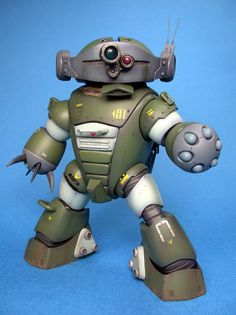 Fuck Yeah! Japanese Robots! // kinks3: スコープアッガイ2