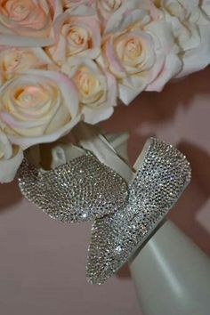 b49bdde7482129 Items similar to Pink Baby Shoes Rhinestone Shoes Swarovski Baby Shoes  Crystal Shoes on Etsy