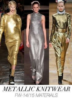 Trend Council Fabric Trends - metallic knitwear