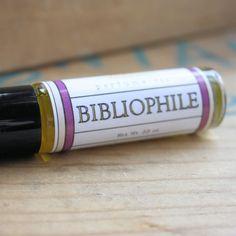 Bibliophile Perfume Oil