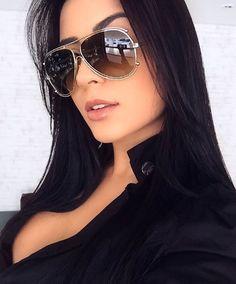 Esbanjando beleza e estilo  @barbaranoleto ficou ainda mais linda de Chloé Isidora  Adoramos a escolha!! #envyotica #modasolar #chloe #chloegirls #chloeisidora #chloesunglasses