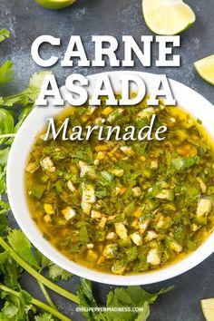 Zesty Carne Asada Marinade