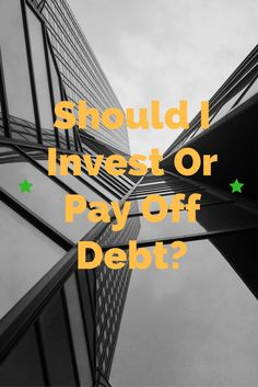 A take on investing vs. paying off debt using familiar scenarios like the different ways we buy and finance cars and how we manage student loan debt.  via @networthisking