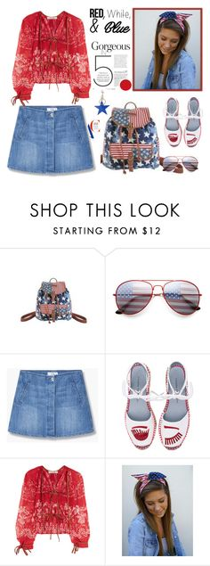"""""""Red, White and Blue Fashion"""" by yours-styling-best-friend ❤ liked on Polyvore featuring MANGO, Chiara Ferragni, Etro and STELLA McCARTNEY"""