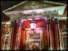 hall town delaware georgetown building return towns