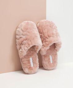 Winter slippers - OYSHO