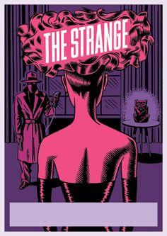 Poster for The Strange, design by Igor Hofbauer.