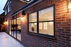 sieger legacy steel look aluminium window with glazing bars Aluminium Windows, Garage Doors, Steel, Outdoor Decor, Home Decor, Decoration Home, Room Decor, Home Interior Design, Carriage Doors